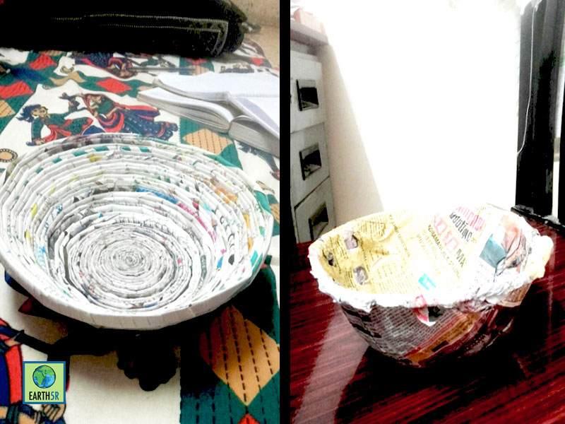 Paper bags Upcycling Workshop Bangalore Earth5R Mumbai India Environmental NGO