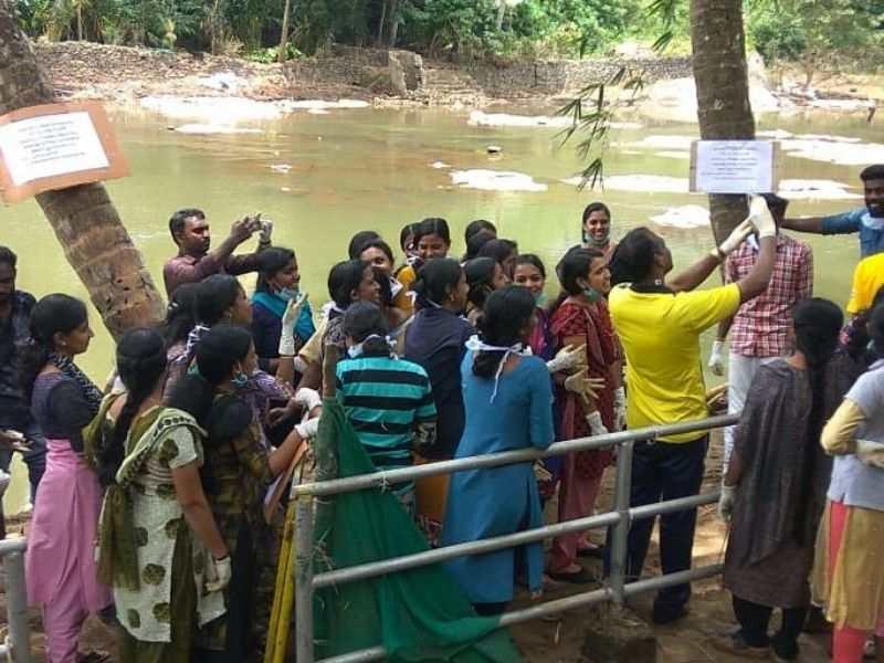 Periyar River Kochi Pollution CSR  Mumbai India Environmental NGO Earth5R