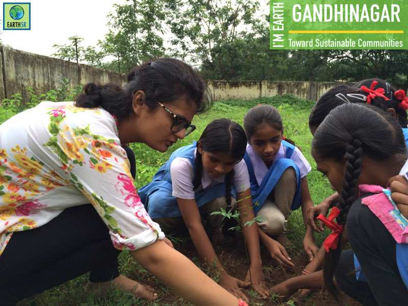 Plantation Gandhinagar Mumbai India Environmental NGO Earth5R CSR