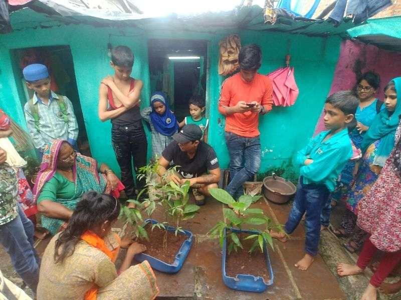Plantation Volunteer Bangkok Circular Economy Mumbai India Environmental NGO Earth5R