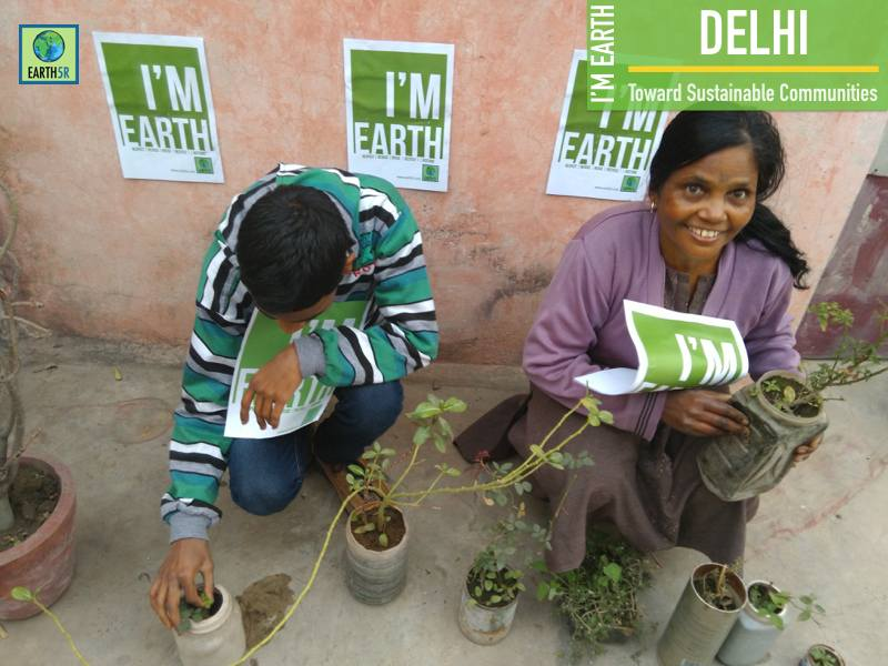 Plantation Women Empowerement Delhi Mumbai India Environmental NGO Earth5R