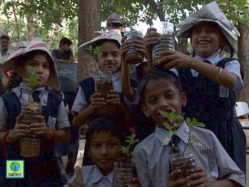 Plantation Workshop Mumbai India Environmental NGO Earth5R
