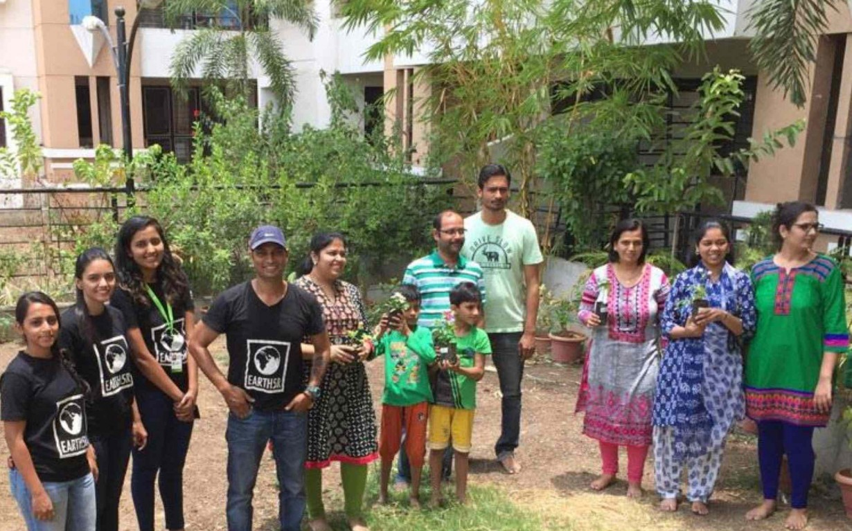 Plantation Workshop Volunteer Pune Earth5R Mumbai India Environmental NGO