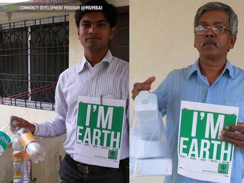 Plastic Bottle Recycling Mumbai India Environmental NGO Earth5R