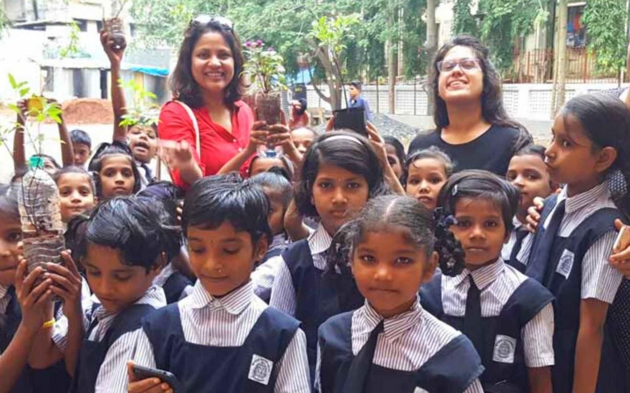 Plastic Bottle Upcycling Mumbai India Environmental NGO Earth5R