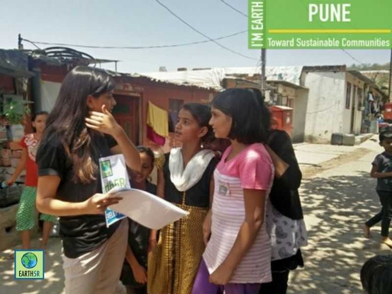 Pune Circular Economy Awareness Volunteers Mumbai India Environmental NGO Earth5R