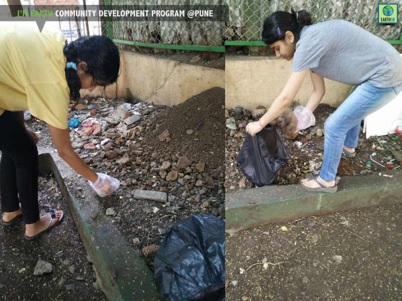 Pune Community Development Clean up Drive Mumbai India Environmental NGO Earth5R