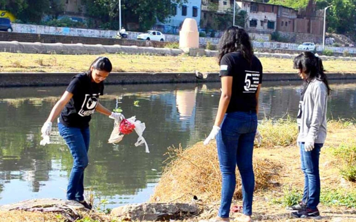 Pune Mula Mutha River Cleanup Mumbai India Environmental NGO Earth5R