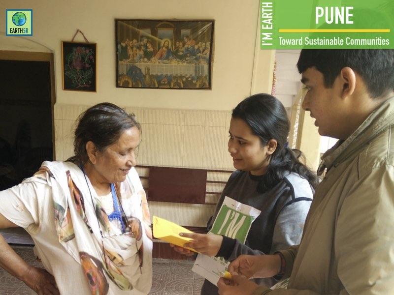 Pune Upcycling Community Development Earth5R Mumbai India Environmental NGO