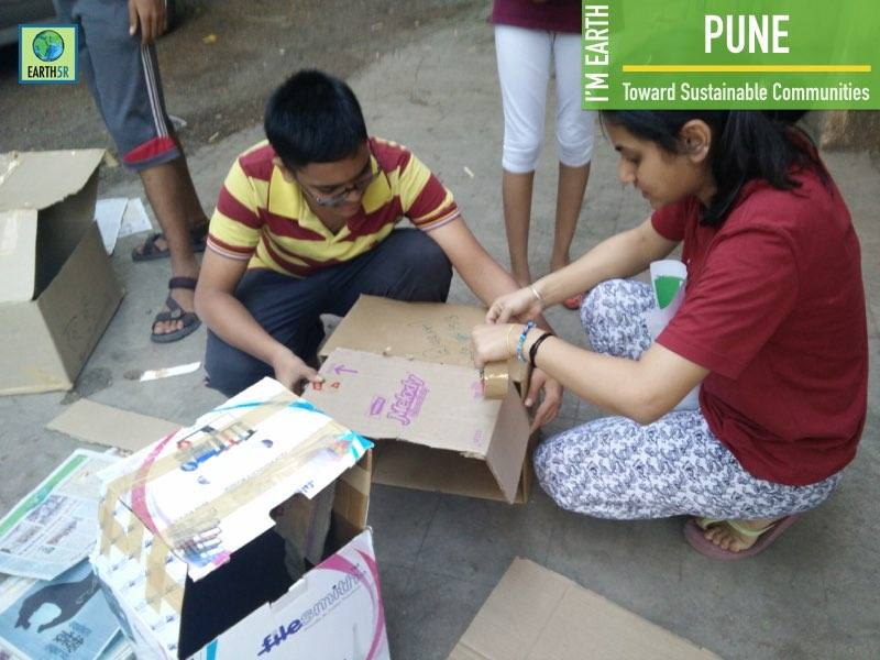 Pune Upcycling Training Mumbai India Environmental NGO Earth5R