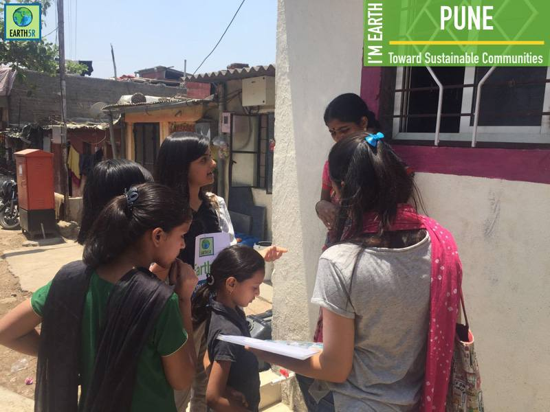 Pune social entrepreneurship Hemal Ingle Sonam Senger Mumbai India Environmental NGO Earth5R