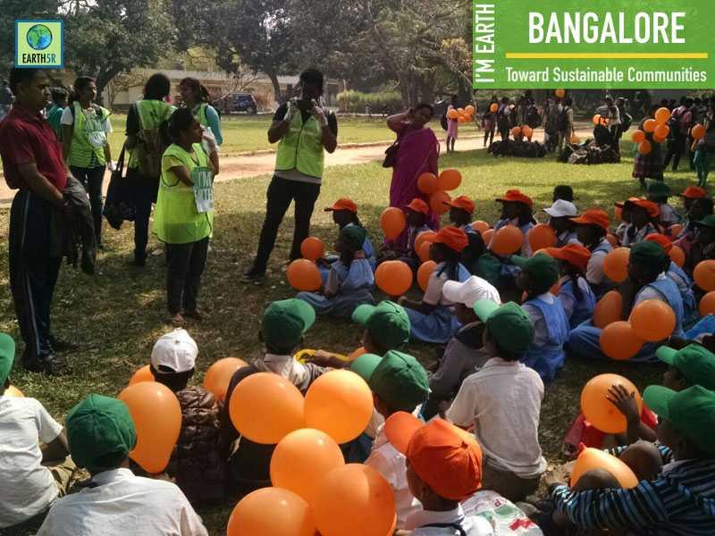 Rain Water Harvesting Awareness Bangalore Community Earth5R Mumbai India Environmental NGO
