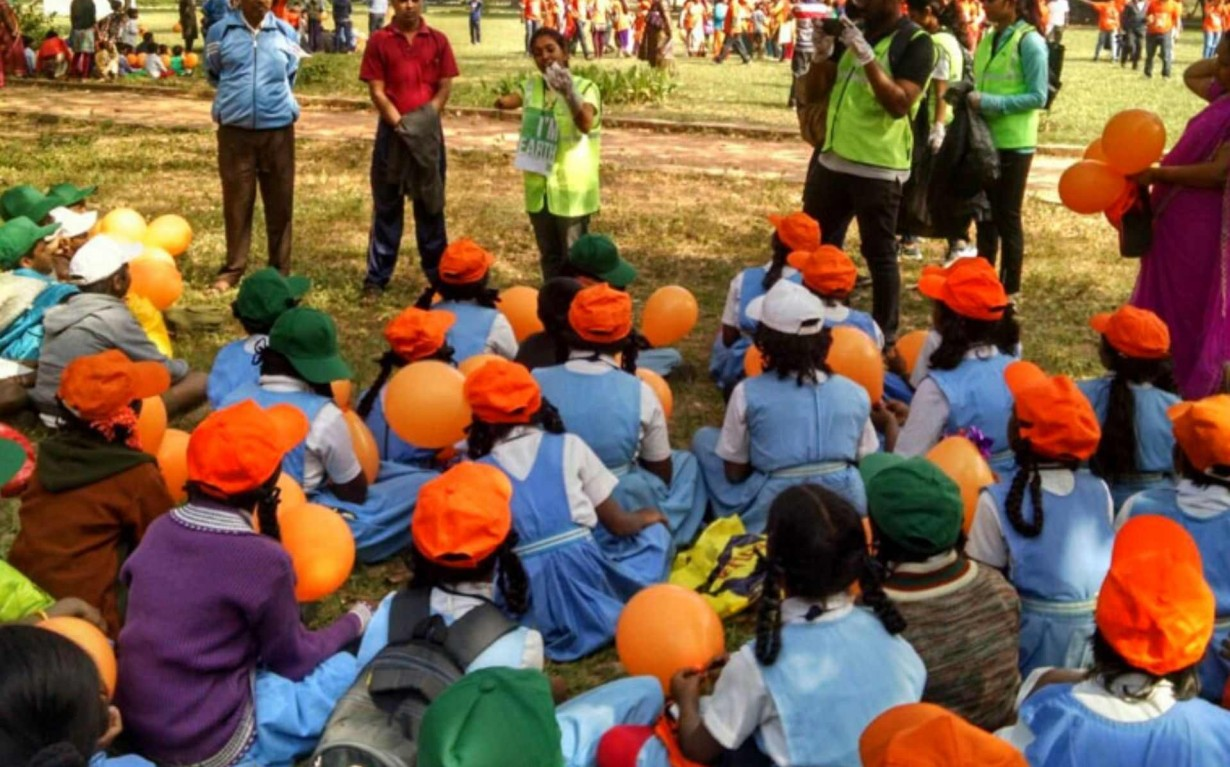 Rain Water Harvesting Awareness Bangalore Community Volunteer Earth5R Mumbai India Environmental NGO