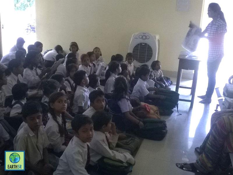 Recycling Awareness Varanasi Mumbai India Environmental NGO Earth5R