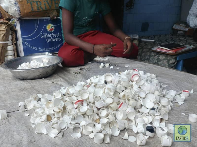 Recycling Center Dharavi Mumbai India Environmental NGO Earth5R