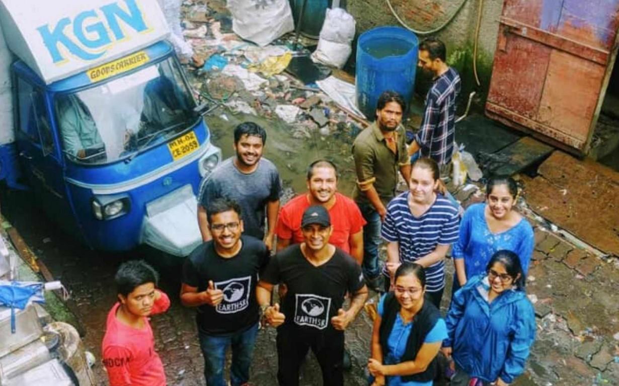 Recycling Center Volunteer Mumbai India Environmental NGO Earth5R