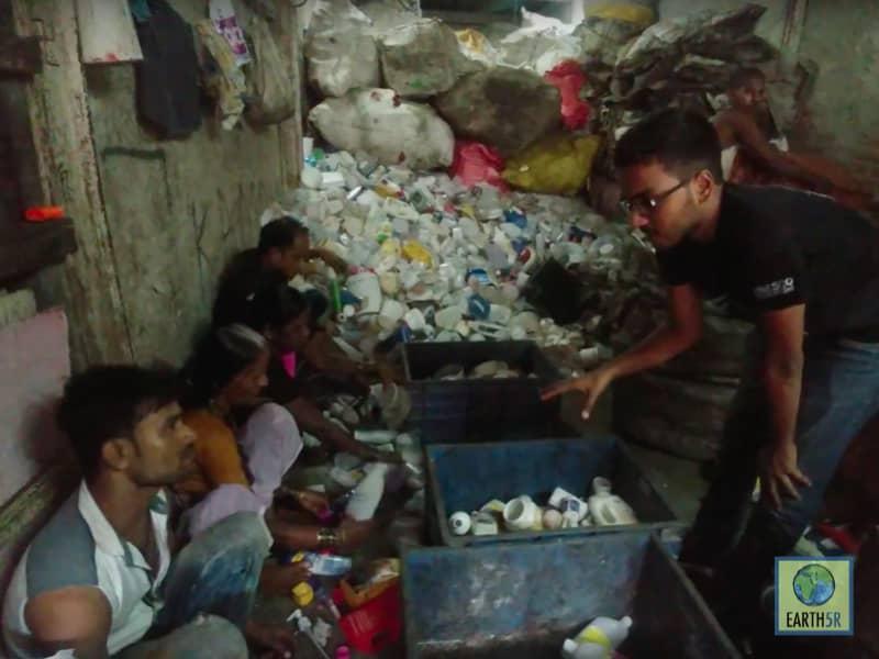 Recycling Center Waste Mumbai India Environmental NGO Earth5R