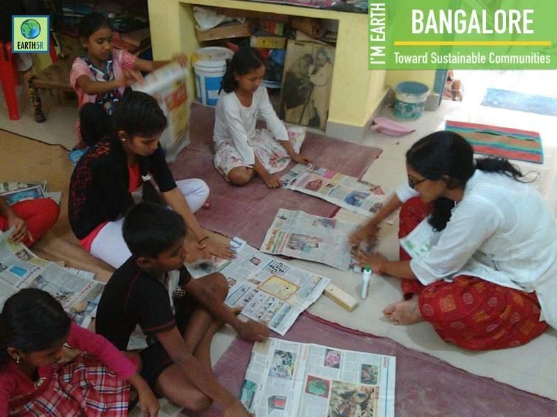 Recycling Community Awareness Bangalore Earth5R Mumbai India Environmental NGO