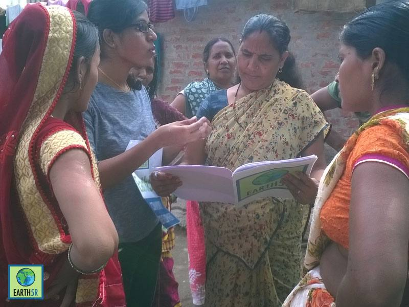 Recycling Community Development Varanasi Mumbai India Environmental NGO Earth5R