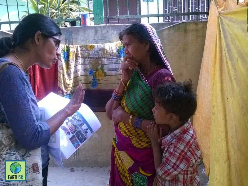 Recycling Hygiene Awareness Varanasi Mumbai India Environmental NGO Earth5R