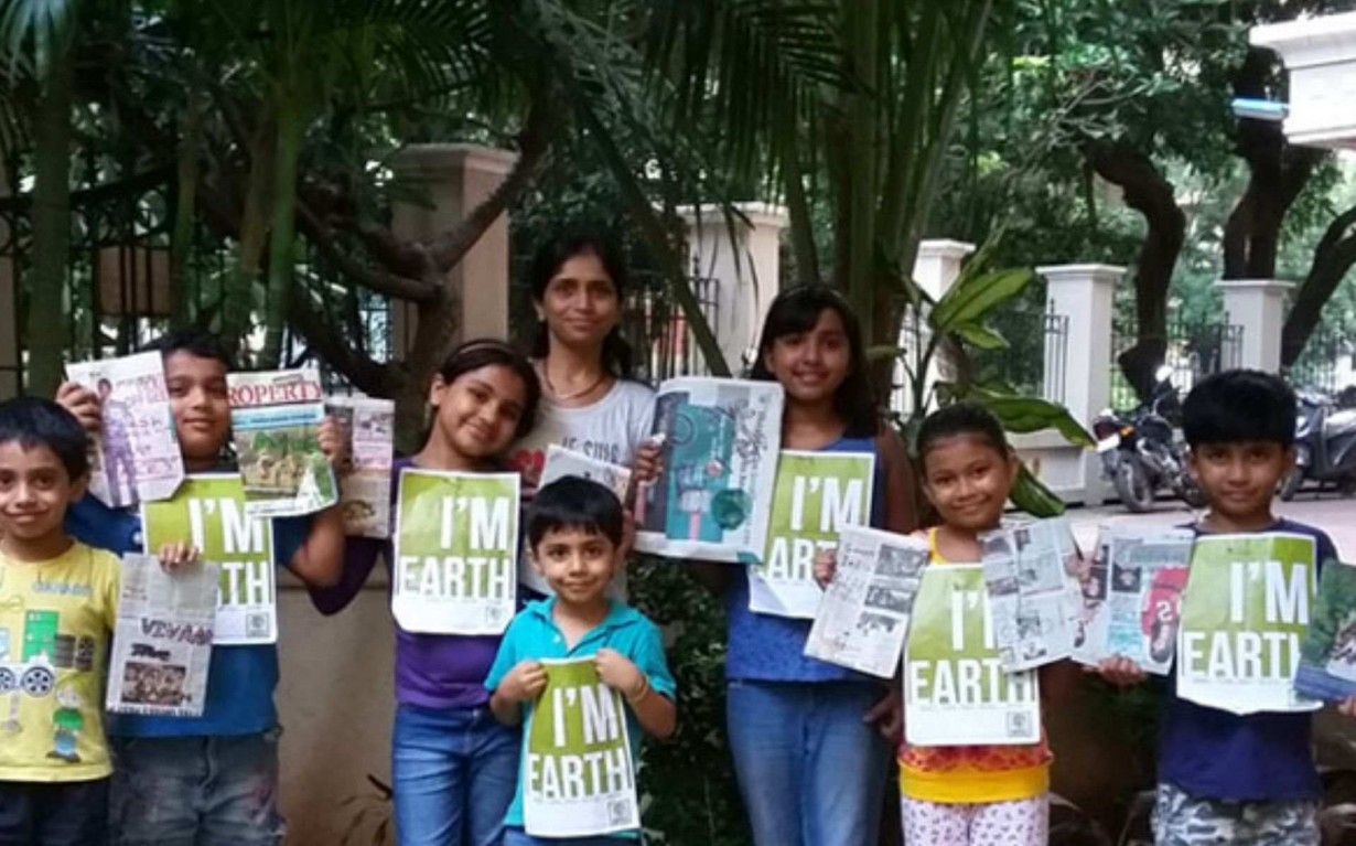 Recycling Paper Workshop Mumbai India Environmental NGO Earth5R