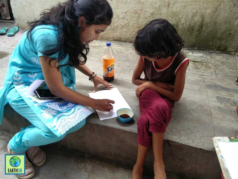 Recycling Pune Madhavi Ninganur Sonam Sengar Mumbai India Environmental NGO Earth5R CSR