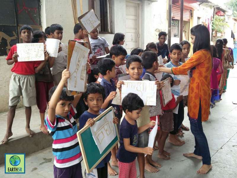 Recycling Pune Volunteer Madhavi Ninganur Sonam Sengar Mumbai India Environmental NGO Earth5R CSR