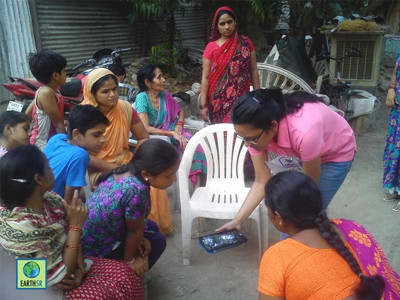 Recycling Sustainability Awareness Kanpur Earth5R Mumbai India Environmental NGO