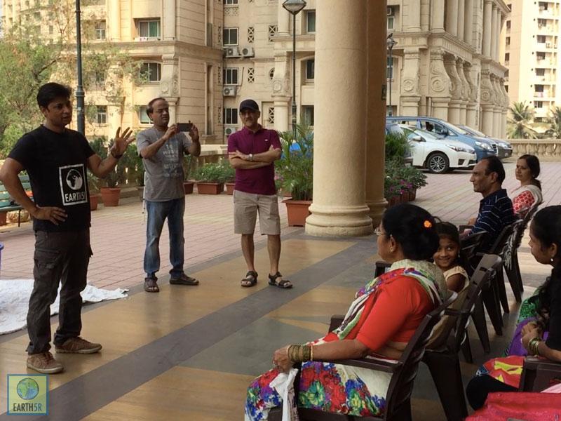 Recycling Training Saurabh Gupta Mumbai India Environmental NGO Earth5R