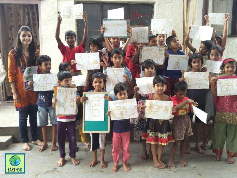 Recycling Workshop Pune Madhavi Ninganur Sonam Sengar Mumbai India Environmental NGO Earth5R CSR