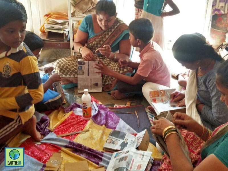 Recycling Workshop Pune Sonam Sengar Mumbai India Environmental NGO Earth5R