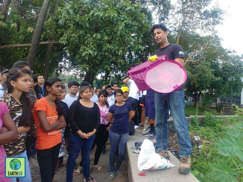 Recycling organic waste Mumbai India Environmental NGO Earth5R