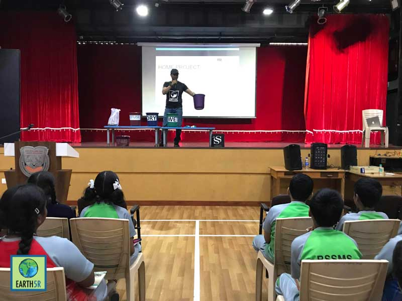Recycling training Mumbai India Environmental NGO Earth5R CSR