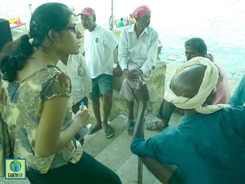 Rishika Jaiswal Ganges Educational Training Mumbai India Environmental NGO Earth5R