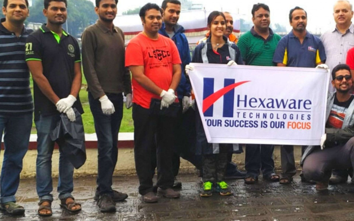 River Cleanup Pune Hexaware CSR Earth5R Mumbai India Environmental NGO
