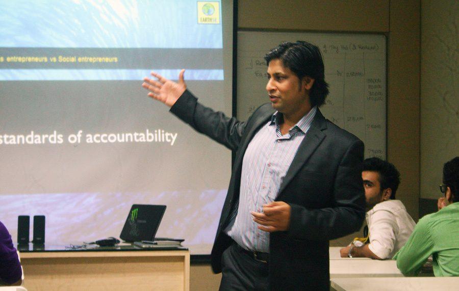 Saurabh Gupta Sustainability Solar Power Earth5R Mumbai India Environmental NGO