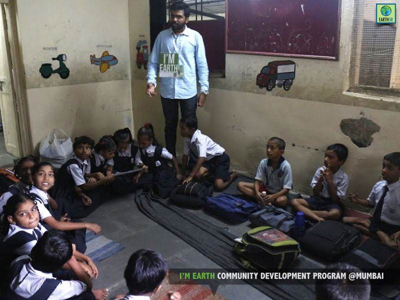 School Environmental Education Children Mumbai India Environmental NGO Earth5R