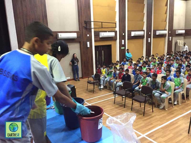 Segregation of waste Mumbai India Environmental NGO Earth5R CSR
