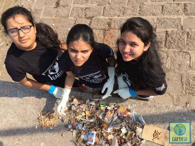 Shriyam Jalan Sonam Sengar Madhavi Ninganur Pune Mumbai Environmental NGO Earth5R