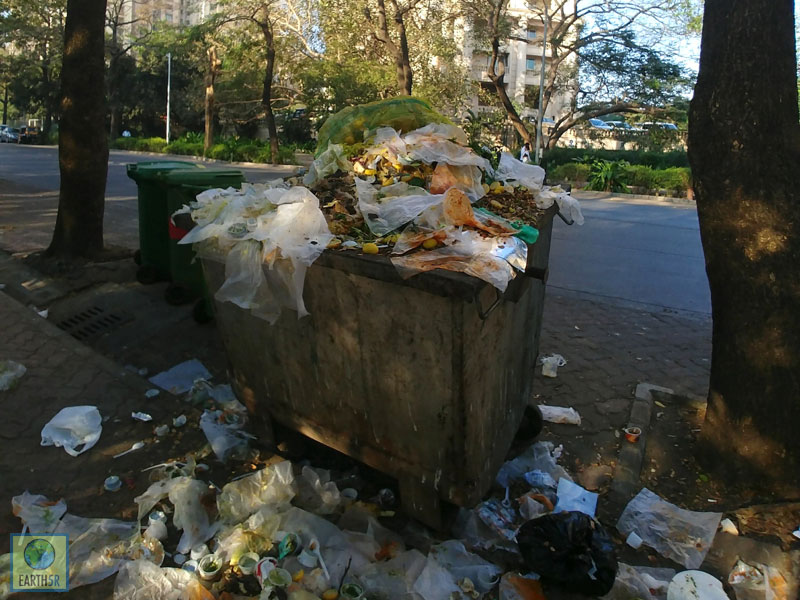 Street Waste Mumbai India Environmental NGO Earth5R