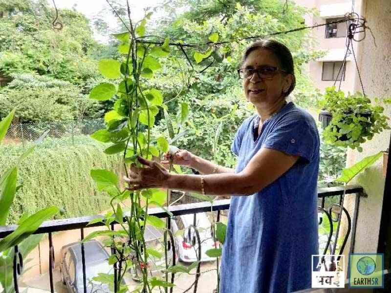 Sudha Bhujle Environmentalist Earth5R Upcycling Mumbai India Environmental NGO