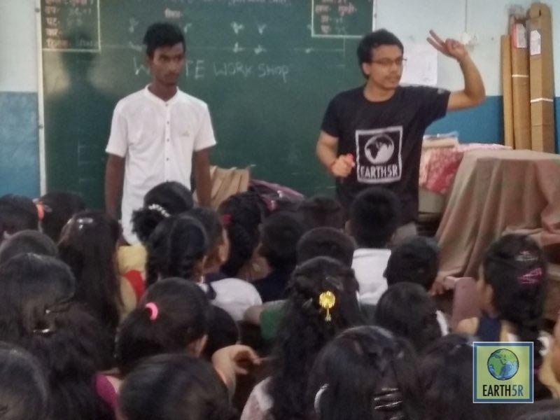 Sustainability Awareness Archit Jain Volunteer Mumbai India Environmental NGO Earth5R