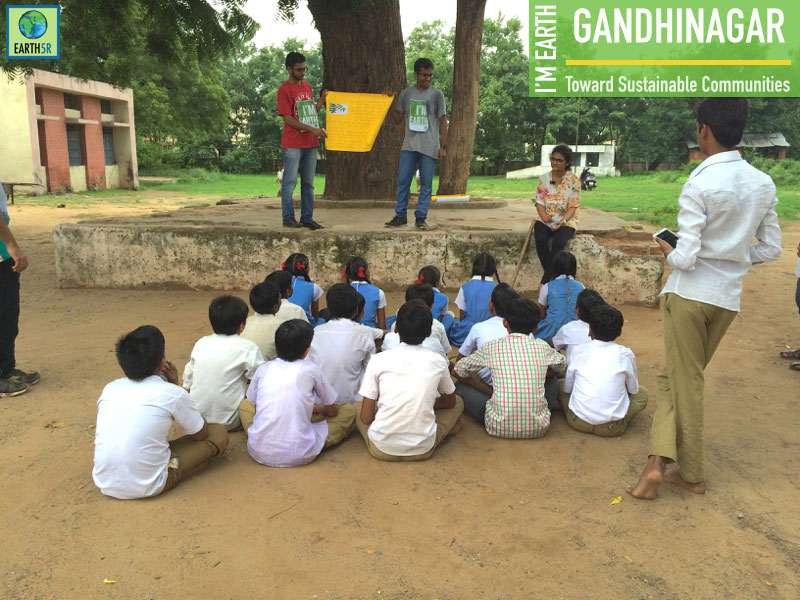 Sustainability Awareness Gandhinagar Mumbai India Environmental NGO Earth5R CSR