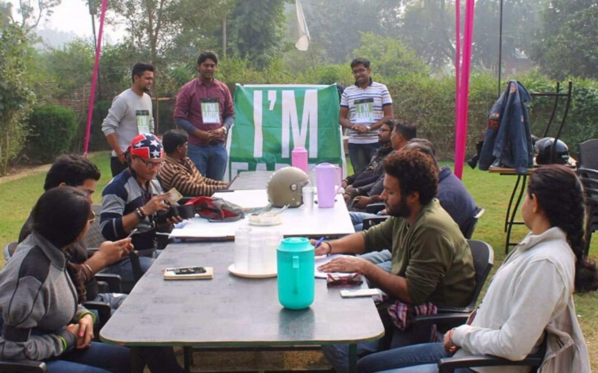 Sustainability Awareness Lucknow Bikers Mumbai India Environmental NGO Earth5R
