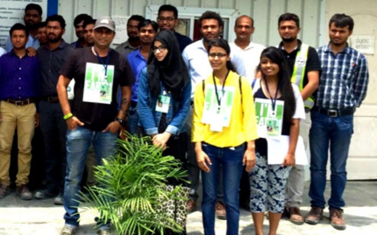 Sustainability Corporate Social Responsibility Larsen Toubro Mumbai India Environmental NGO Earth5R