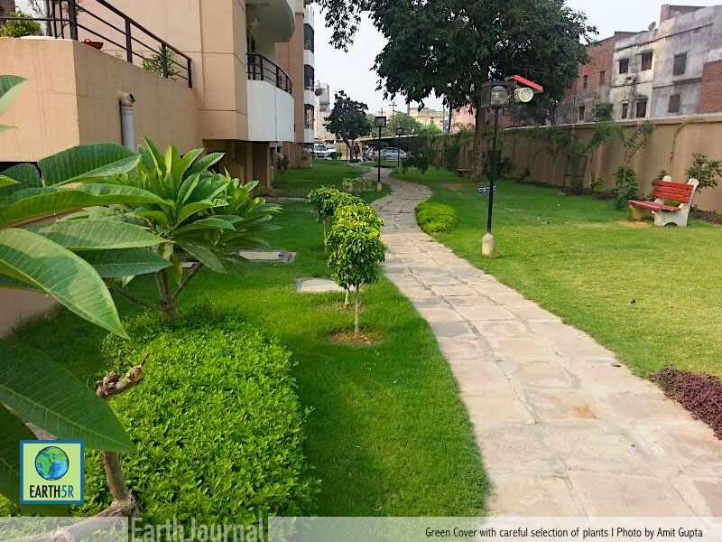 Sustainable Community Gardenia Varanasi Earth5R Mumbai India Environmental NGO