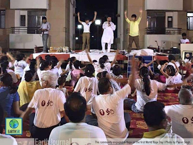 Sustainable Community Yoga Varanasi Earth5R Mumbai India Environmental NGO
