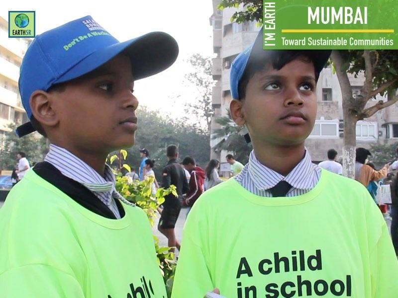 Sustainable Development Awareness Marathon Earth5R Mumbai India Environmental NGO