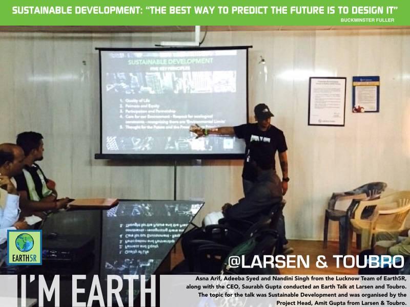 Sustainable Development Larsen Toubro Mumbai India Environmental NGO Earth5R