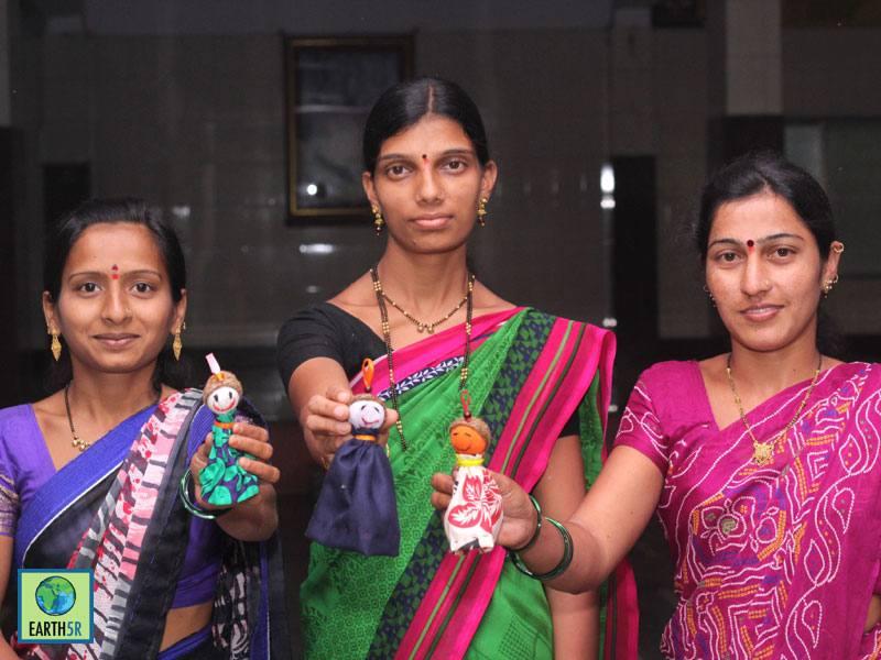 Sustainable Village Development Doll making Mumbai India Environmental NGO Earth5R